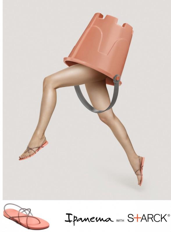 Ipanema Philippe Starck Thon G Fem Damen Zehentrenner