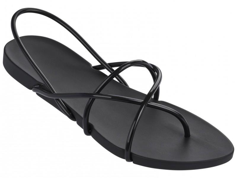 Ipanema Philippe Satarck Sandalen in schwarz mit edel schmalen Riemchen