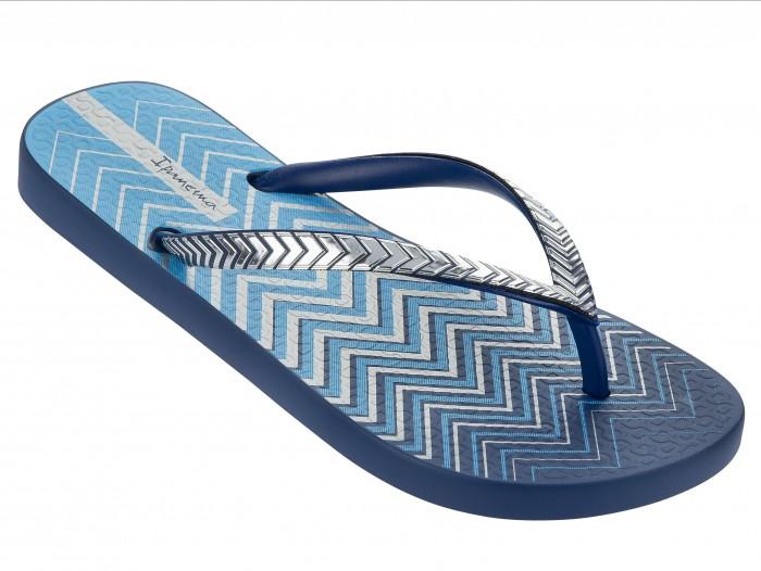 Ipanema Schuhe blau mit Riemchen in metallic Optik