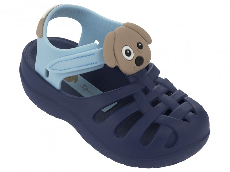 Ipanema Babysandalen blau mit Hund 81720_8078_22117_00_HD
