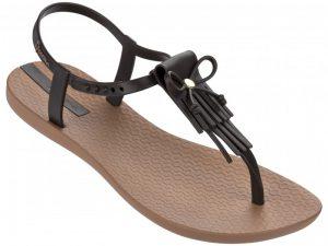 Ipanema Schuhe Charm Sandalen mit Fransen braun