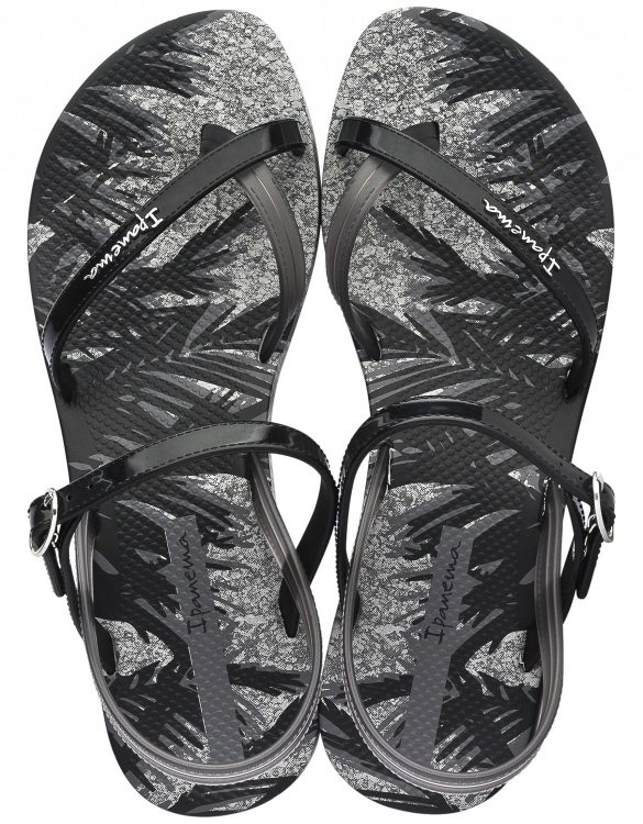 93d9784a081b4a Ipanema Fashion Sandalen schwarz grau