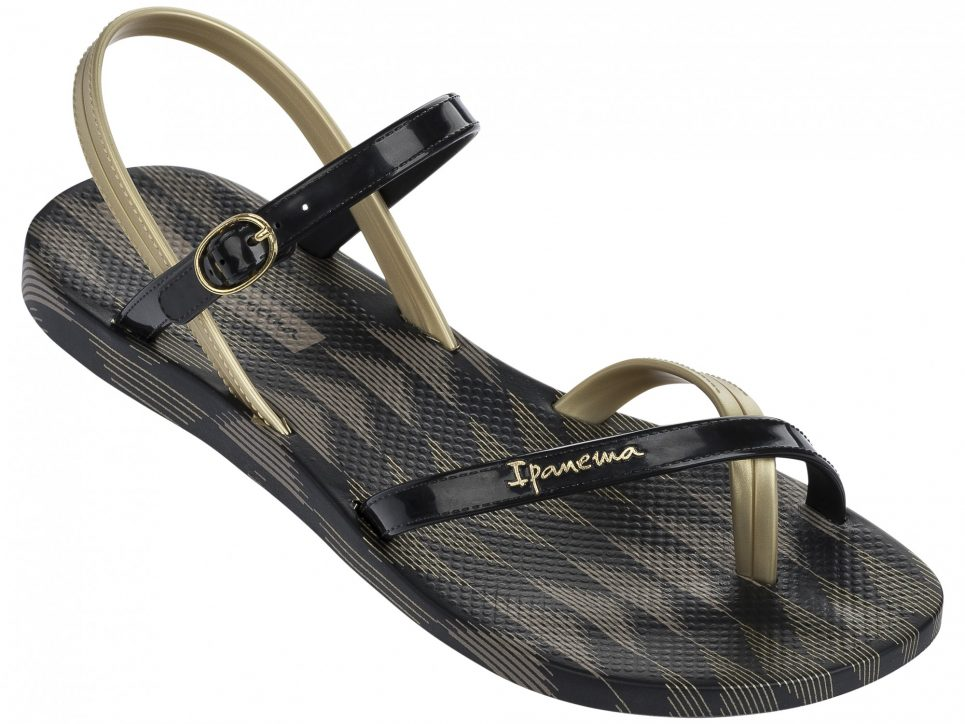 Ipanema Fashion Sandalen 2017 schwarz gold 81929_8419_21117