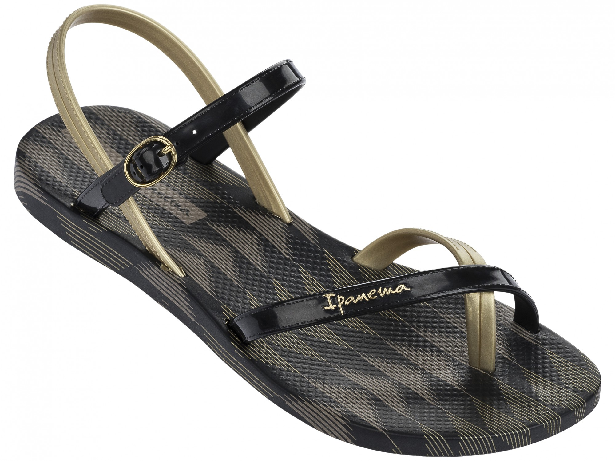 best sneakers 781ac a63f3 Ipanema Fashion Sandalen schwarz gold