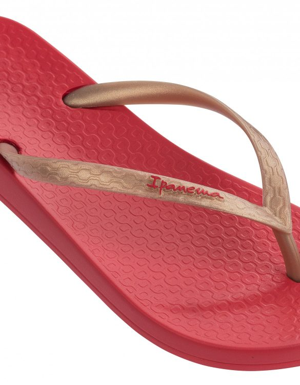 Ipanema Schuhe Anatomic Tan rot gold