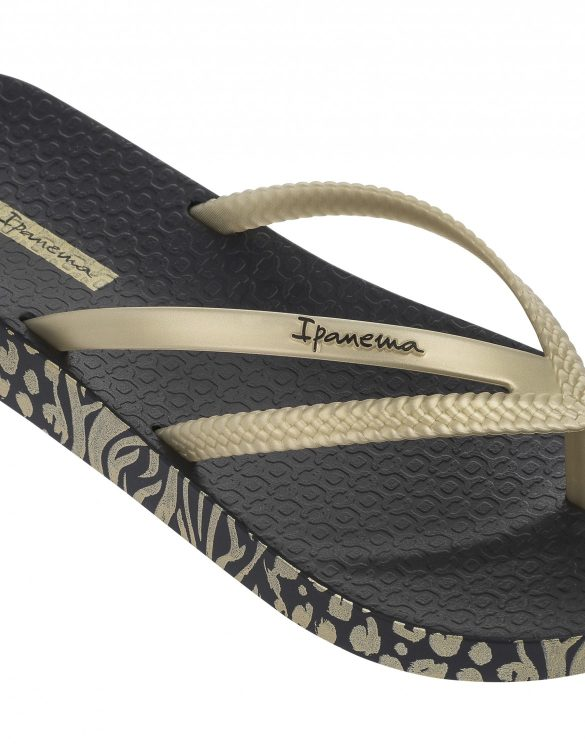 Ipanema Schuhe Bossa Soft schwarz gold