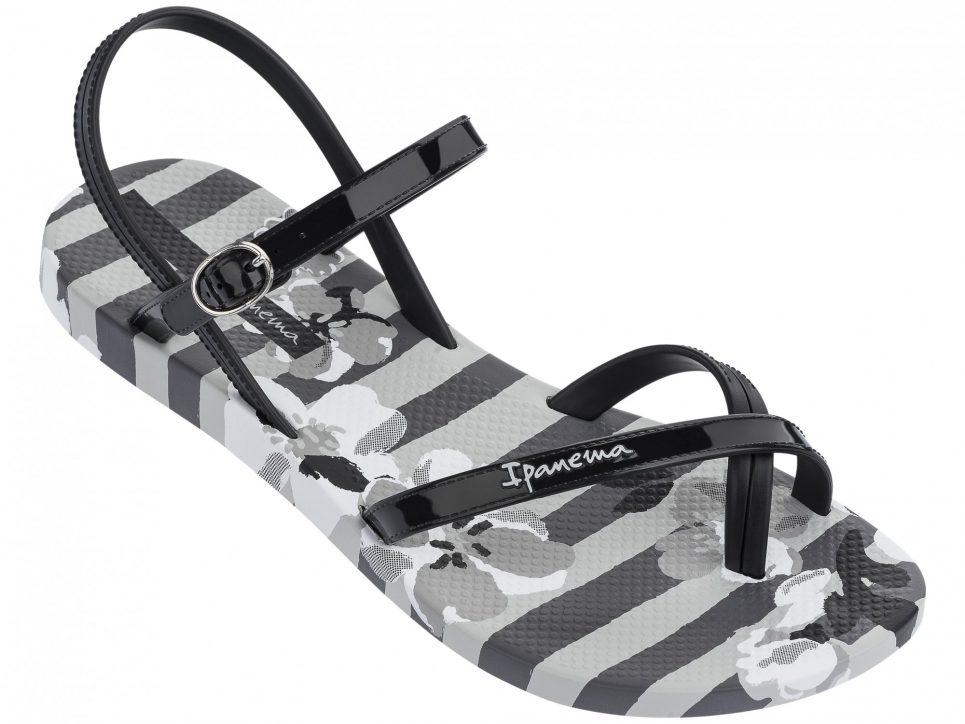 Ipanema Fashion Sandalen schwarz grau