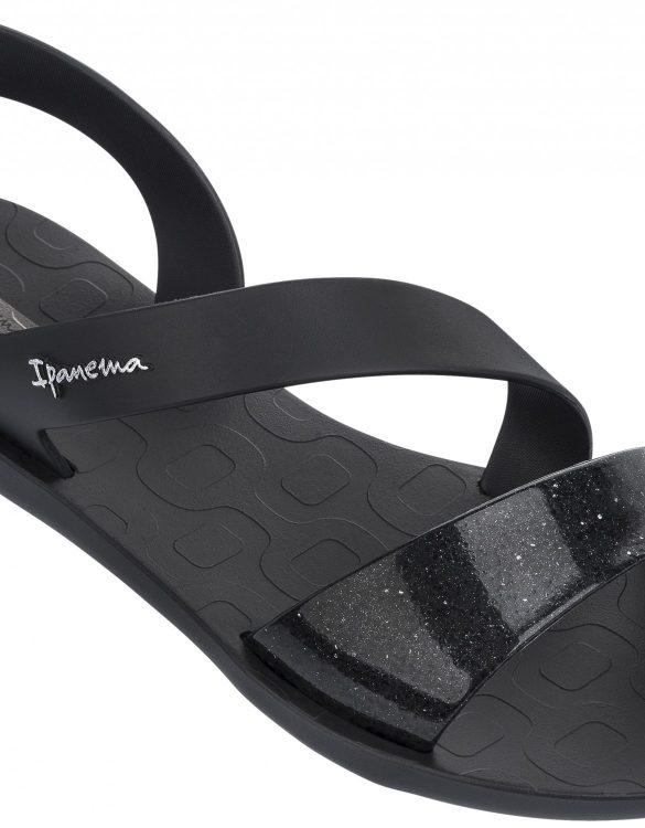 Ipanema Sandalen schwarz ohne Zehensteg