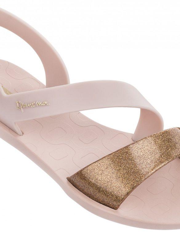 Ipanema Vibe Sandalen Pink ohne Zehentrenner