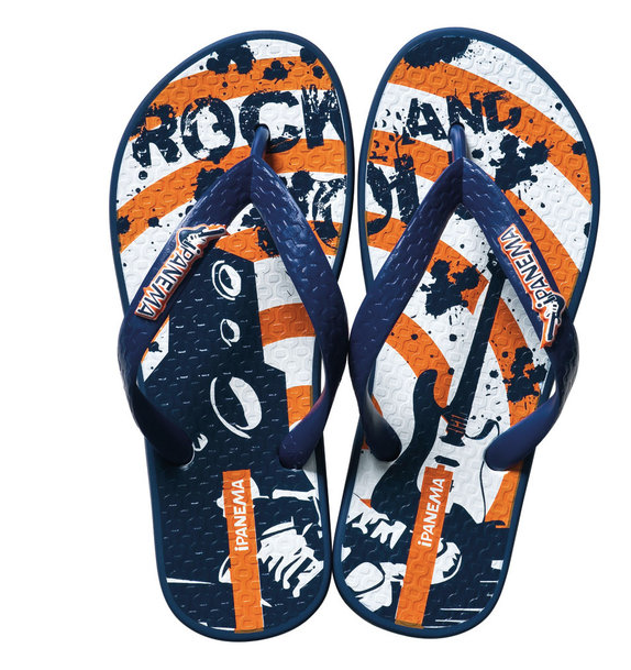 Ipanema Kindersandalen blau orange
