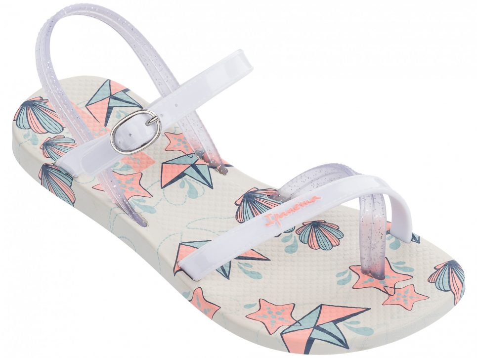 Ipanema Fashion Kindersandalen weiß