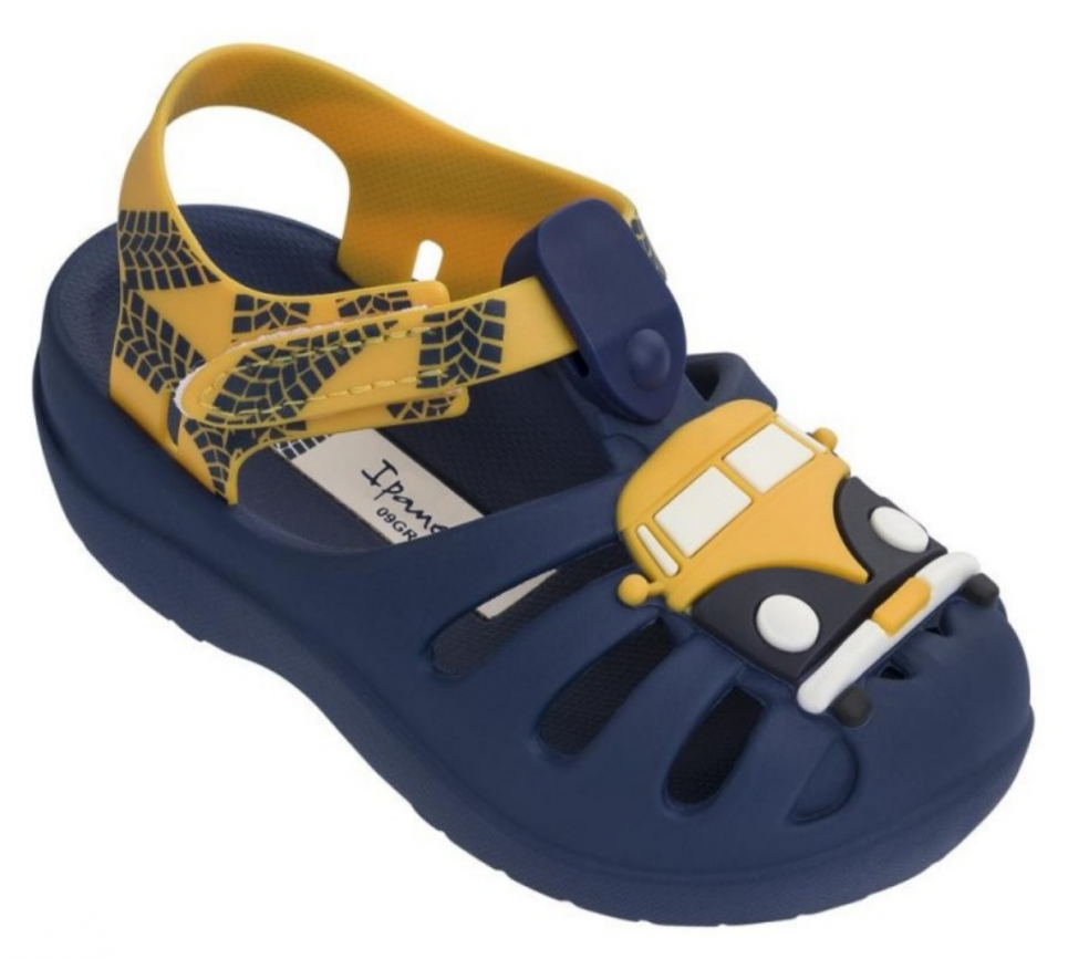 Ipanema Summer Kindersandalen blau Bus